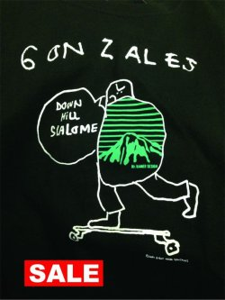 画像1: MT RAINIER DESIGN MARK GONZALES TEE DOWNHILL