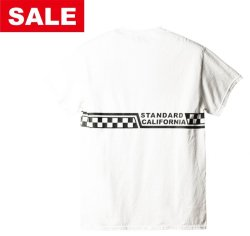 画像1: STANDARD CALIFORNIA     VANS x SD CHECKER LOGO T