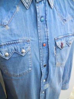 画像5: BLUE BLUE(ブルーブルー) ST814 オールドスクール ウエスタンシャツ