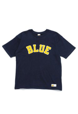 画像2: HOLLYWOOD RANCH MARCKET    RUSSELL・BLUE BLUE BLUEパッチTシャツ