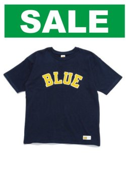 画像1: HOLLYWOOD RANCH MARCKET    RUSSELL・BLUE BLUE BLUEパッチTシャツ